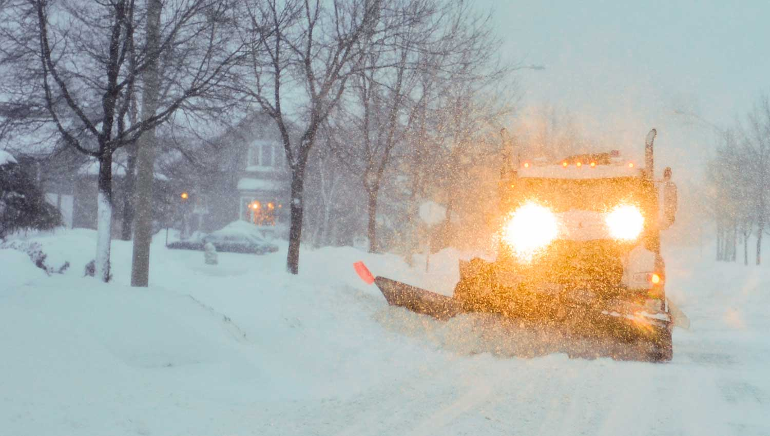 Snow Plowing in Wright Township PA | wrighttownship.org