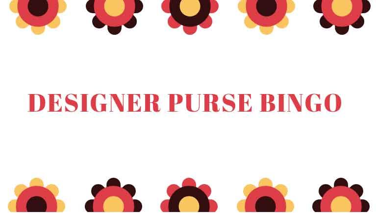 Designer Purse Bingo | wrighttownship.org