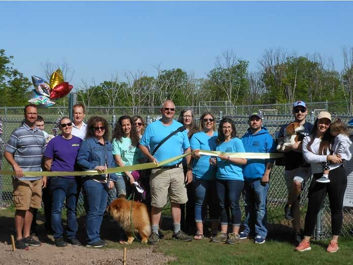 New dog park opens in Wright Twp. | wrighttownship.org