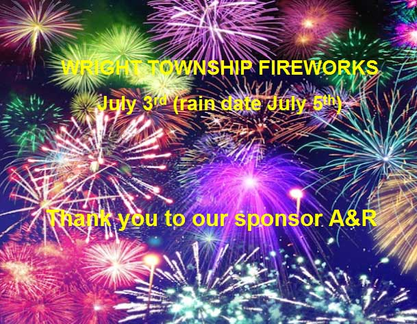 Annual Fireworks | Wrighttownship.org